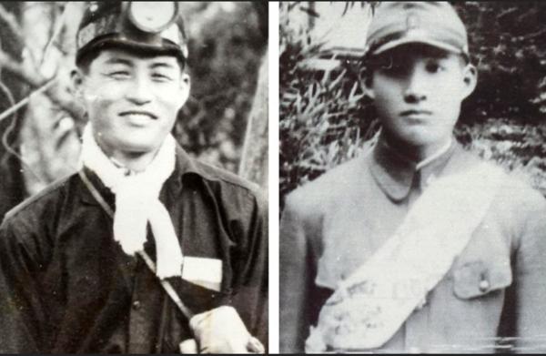 서호선씨 아버지(왼쪽)와 큰형.